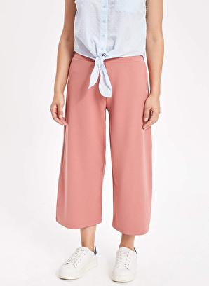 DeFacto Elastik Belli Culotte Pantolon